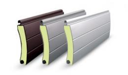 Garagenrolltor mit Aluminium Lamellen 77mm